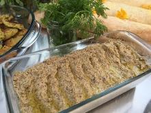 Humus aus braunen Kichererbsen Bio