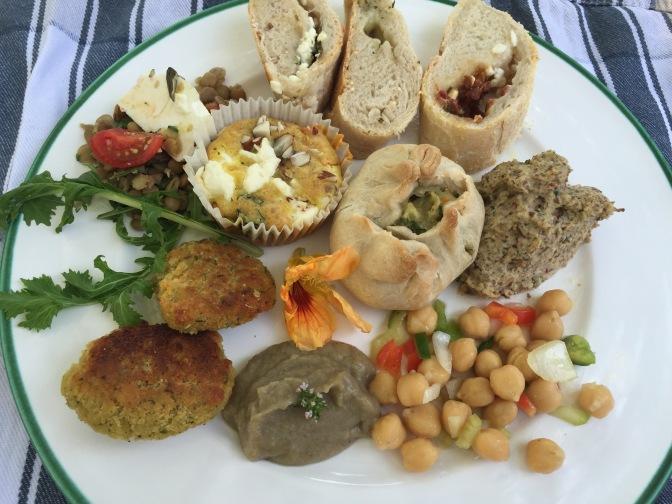 Picknick Fingerfood vegetarisch Bio Zurück zum Ursprung