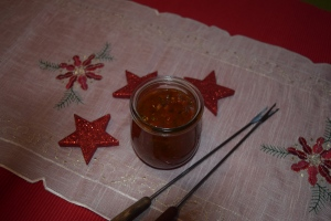 Scharfe Honigsauce