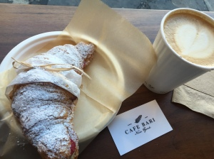 Cafe Bari SoHo Tribeca New York Croissant