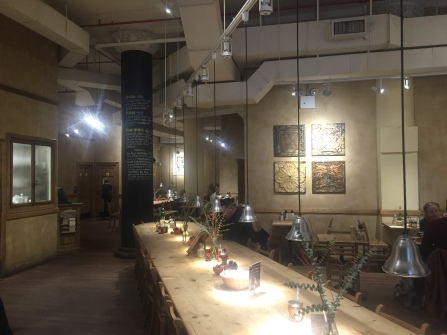 Le pain quotidien New York, Interieur