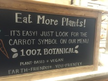 "Le pain quotidian New York ""Eat more plants"""