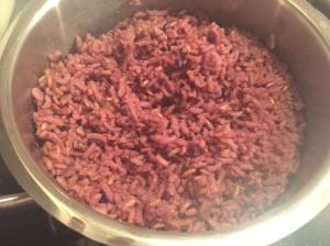tropische Reismischung