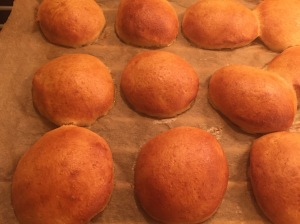 Krapfen fertig gebacken