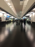 Boarding Austrian Airlines Vienna Airport