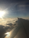Up in the sky - on Board Austrian Airlines