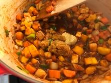 Rindsrouladen - Suppenwürze, Senf dazu