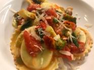 Pasta Broccoli Tomaten Ravioli