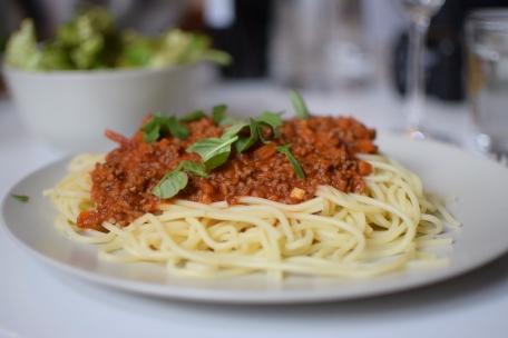 #hoferbiogrillen Pasta Bolognese