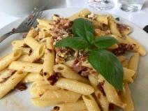 #hoferbiogrillen Pasta Carbonara